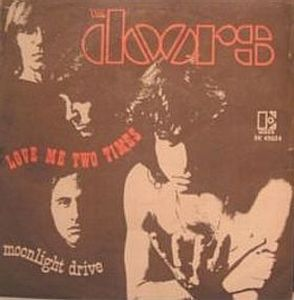 The Doors Love Me Two Times album cover