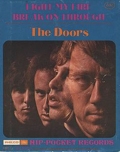 The Doors Light My Fire 5'' vinyl album cover