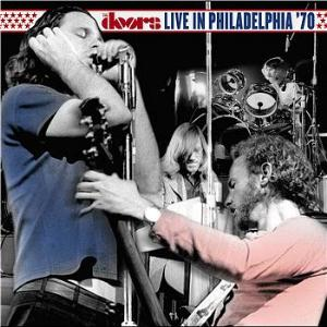 The Doors Live in Philadelphia '70 album cover
