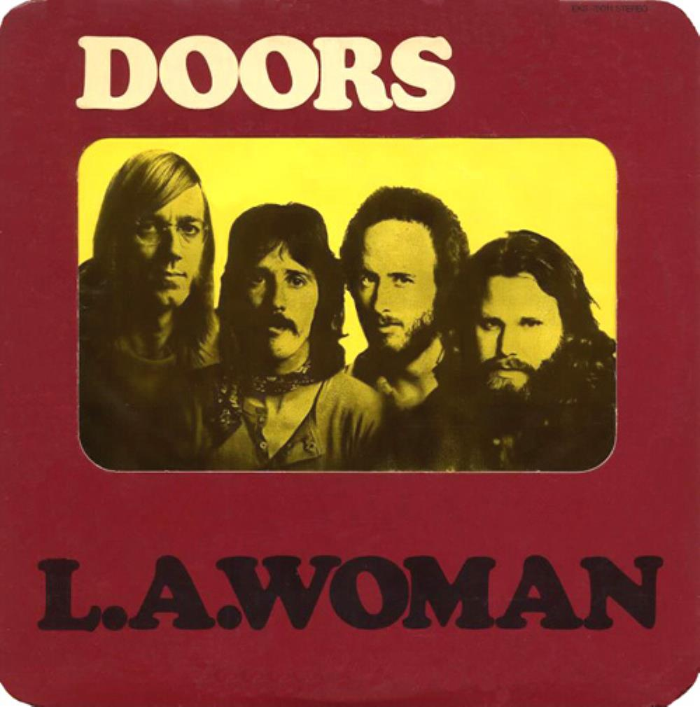L.A. Woman by DOORS, THE album cover