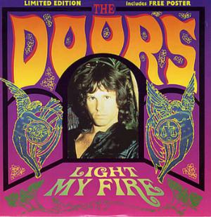 The Doors Light My Fire album cover