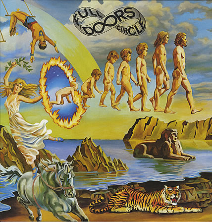 The Doors - Full Circle CD (album) cover