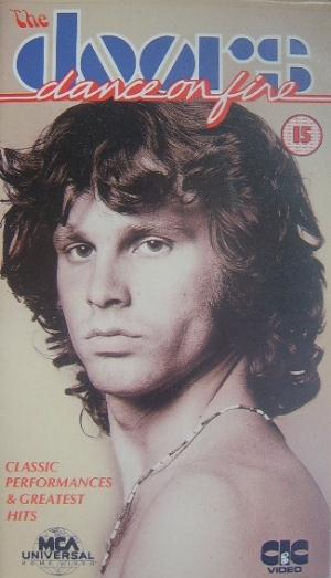 The Doors Dance On Fire album cover