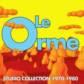 Le Orme Studio Collection 1970/ 1980 (slim case edition) album cover
