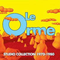 Le Orme - Studio Collection 1970 - 1980 CD (album) cover