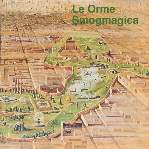 Le Orme - Smogmagica CD (album) cover