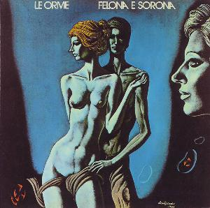 Le Orme - Felona E Sorona CD (album) cover