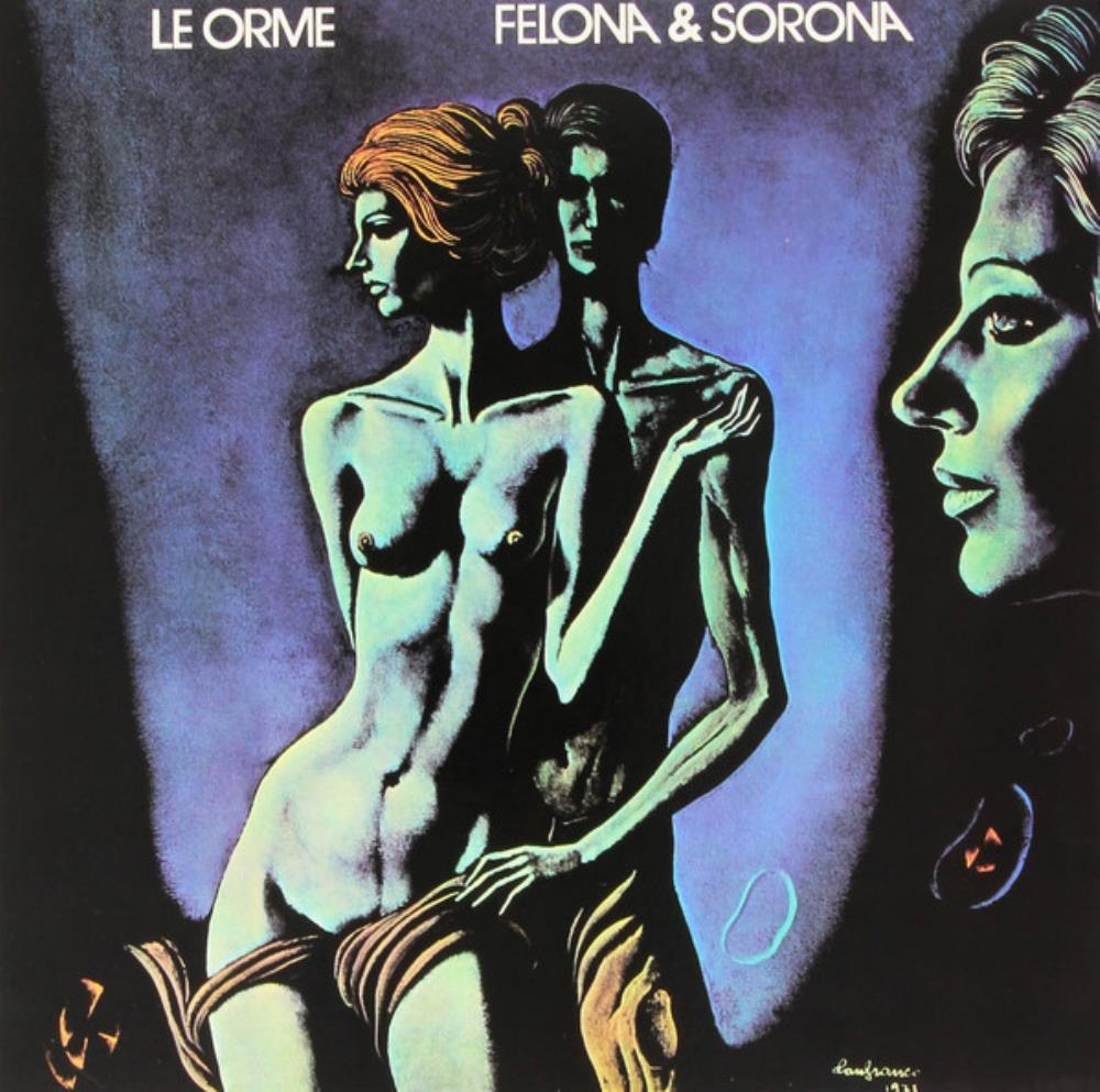 Le Orme Felona & Sorona (English language version) album cover