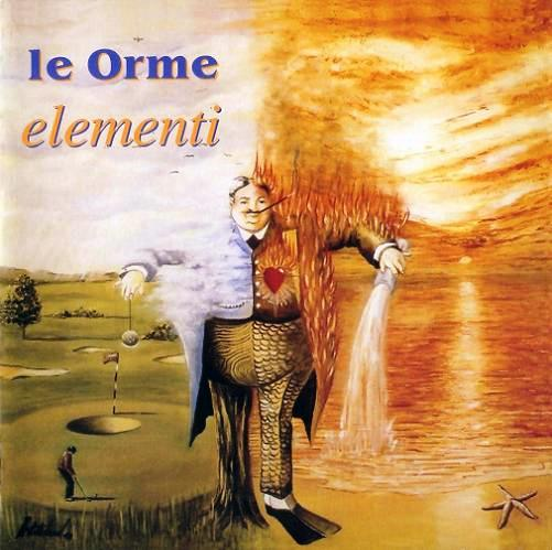 Le Orme - Elementi CD (album) cover