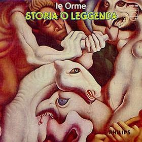 Le Orme - Storia o leggenda CD (album) cover