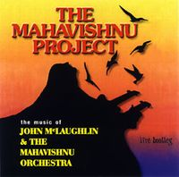 Mahavishnu Project Live Bootleg album cover