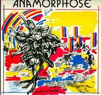 Anamorphose - Palimpseste CD (album) cover