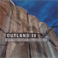 Pete Namlook Outland 4 (with Bill Laswell) album cover