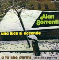 Alan Sorrenti - Una Luce Si Accende CD (album) cover