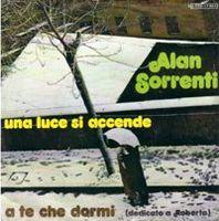 Una Luce Si Accende by SORRENTI, ALAN album cover