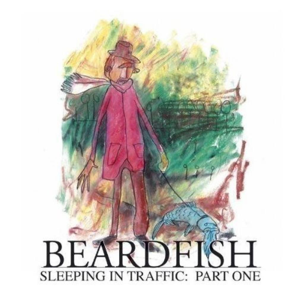 Beardfish - Sleeping In Traffic - Part One CD (album) cover