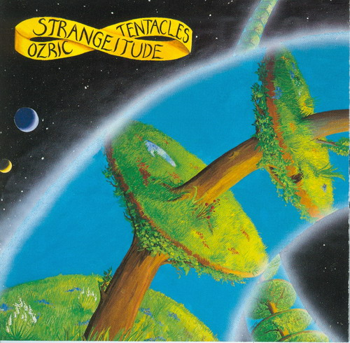 Ozric Tentacles - Strangeitude CD (album) cover