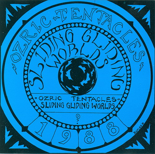 Ozric Tentacles - Sliding Gliding Worlds  CD (album) cover