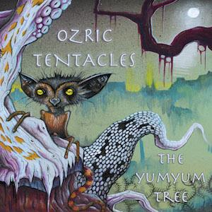Ozric Tentacles - The YumYum Tree CD (album) cover