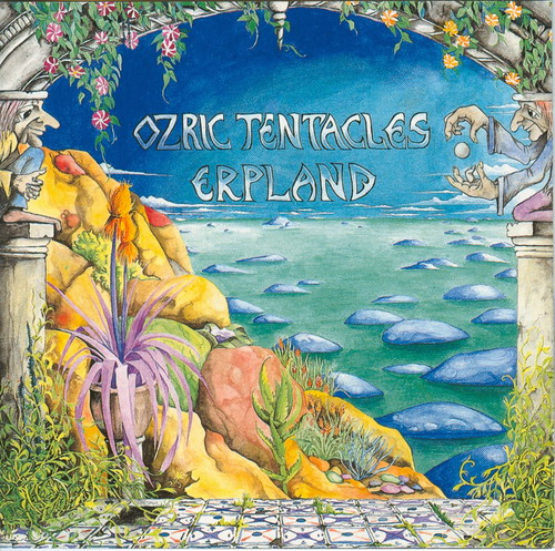 Erpland by OZRIC TENTACLES album cover