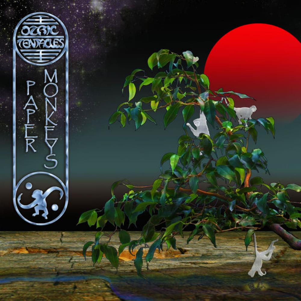 Ozric Tentacles Paper Monkeys album cover