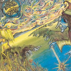 Ozric Tentacles - Pungent Effulgent  CD (album) cover
