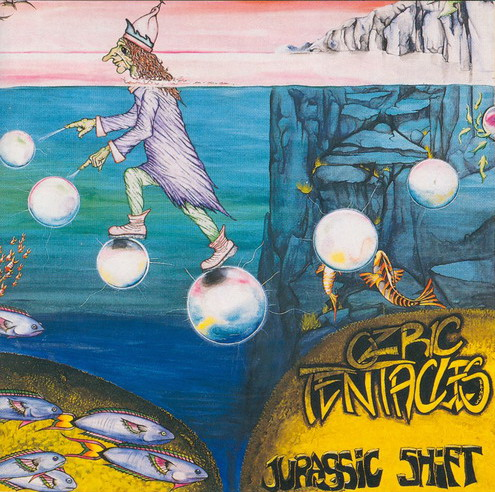 Jurassic Shift by OZRIC TENTACLES album cover