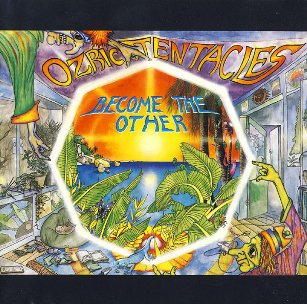 Ozric Tentacles - Become The Other CD (album) cover
