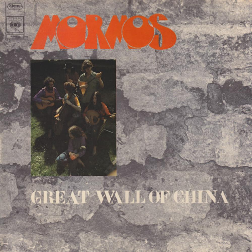 Mormos - Great Wall Of China CD (album) cover