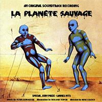 Alain Goraguer - La plan�te sauvage CD (album) cover