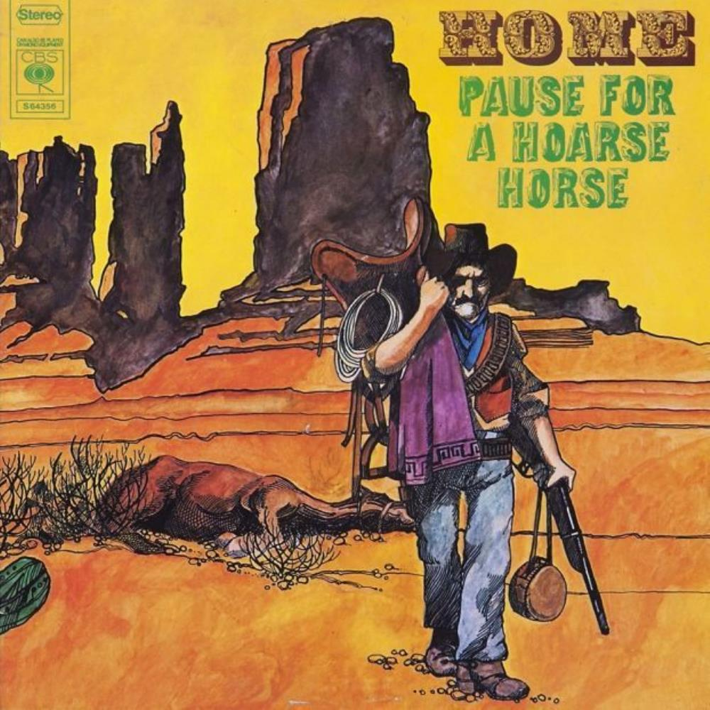 Home - Pause For A Hoarse Horse CD (album) cover