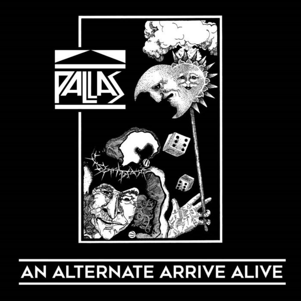 An Alternative Arrive Alive by PALLAS album cover