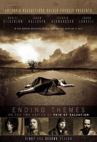 Pain Of Salvation - Ending Themes - On The Two Deaths Of Pain Of Salvation CD (album) cover
