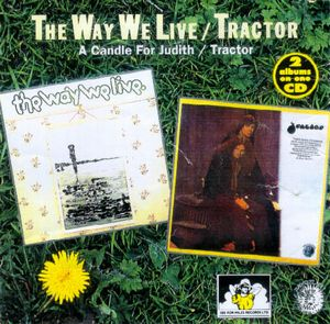 (Psychedelichard-rock / folk ) Tractor - Tractor - 1972. The way we live / a candle for judith - 1971(2in1) FLAC (image + .cue), lossless