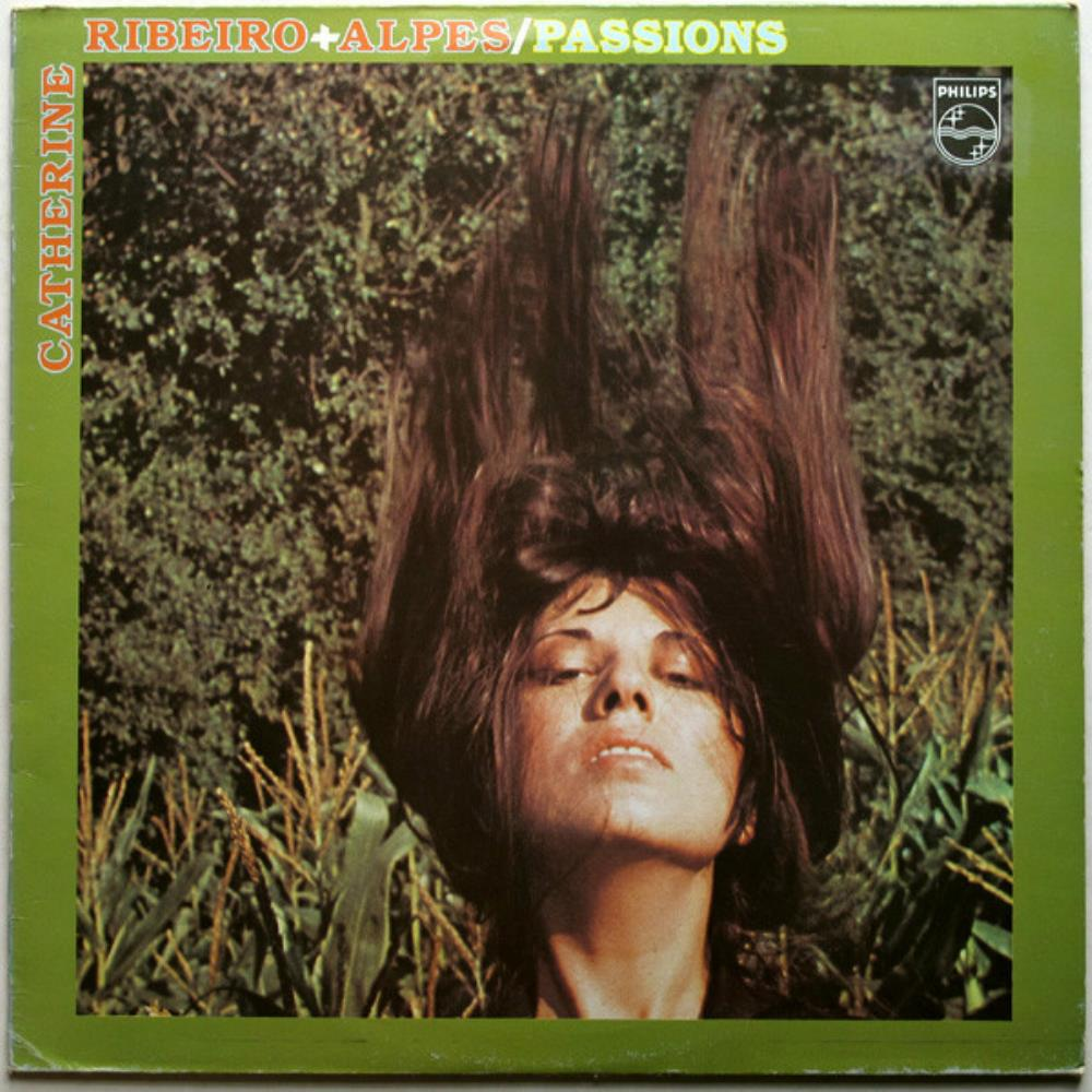 Passions by RIBEIRO  & ALPES, CATHERINE album cover