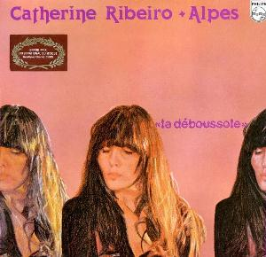 Alpes & Catherine Ribeiro - La Deboussole CD (album) cover
