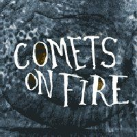 Comets on Fire Blue Cathedral album cover