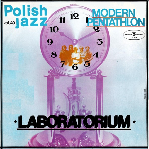 Laboratorium - Modern Pentathlon CD (album) cover