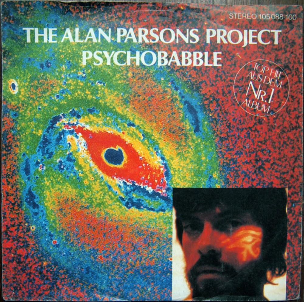 The Alan Parsons Project Psychobabble album cover