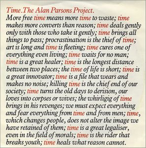 The Alan Parsons Project Time album cover