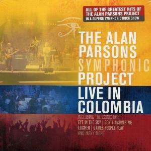 Live In Colombia by PARSONS PROJECT, THE ALAN album cover