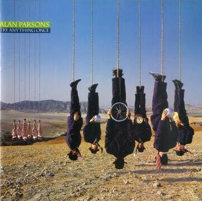 Alan Parsons Band Try Anything Once album cover