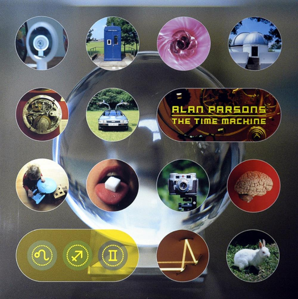 Alan Parsons Band The Time Machine album cover