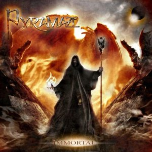 Immortal by PYRAMAZE album cover
