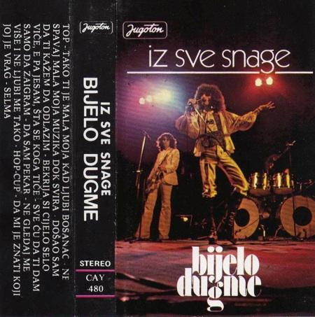 Iz sve snage by BIJELO DUGME album cover