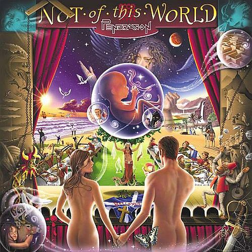 Not Of This World  by PENDRAGON album cover