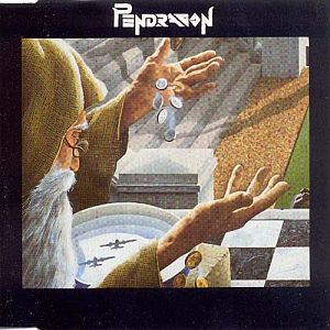 Pendragon Nostradamus album cover