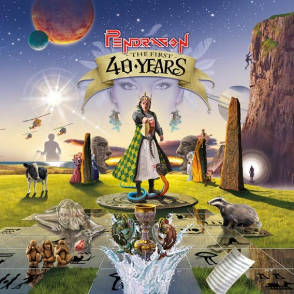 Pendragon - The First 40 Years CD (album) cover