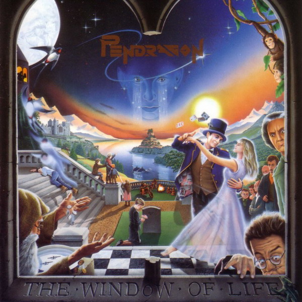 The Window Of Life by PENDRAGON album cover