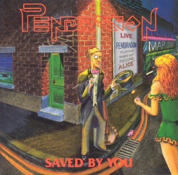 Pendragon Saved By You (EP) album cover